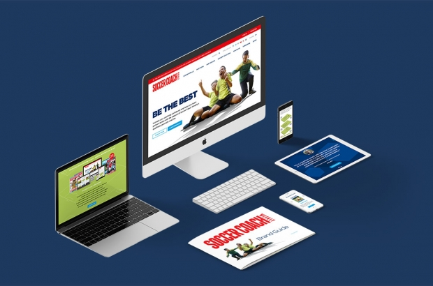 Web & Graphic Design - Web Development - Example Work: Soccer Coach Weekly